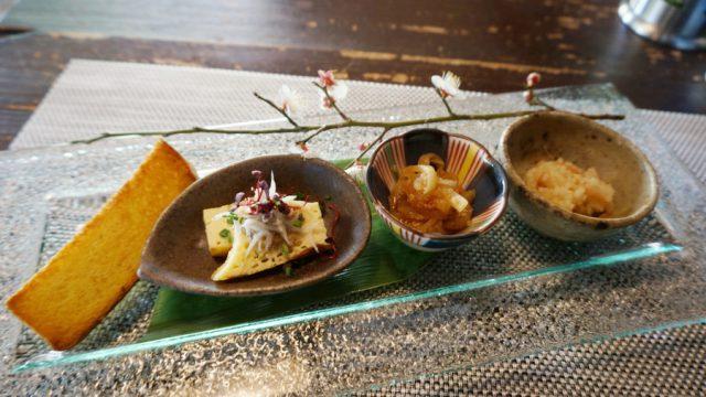 3種類の前菜